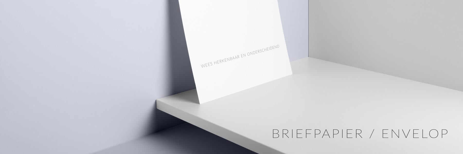 Grafisch zakelijk - Met briefpapier en enveloppen maak je een vertrouwde en professionele indruk