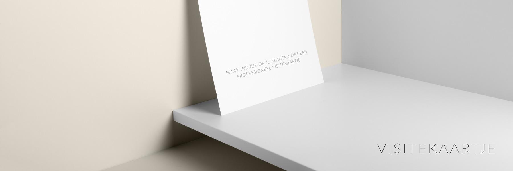 Grafisch zakelijk - visitekaartje - Professioneel ontworpen en gedrukte visitekaartjes maken een wereld van verschil