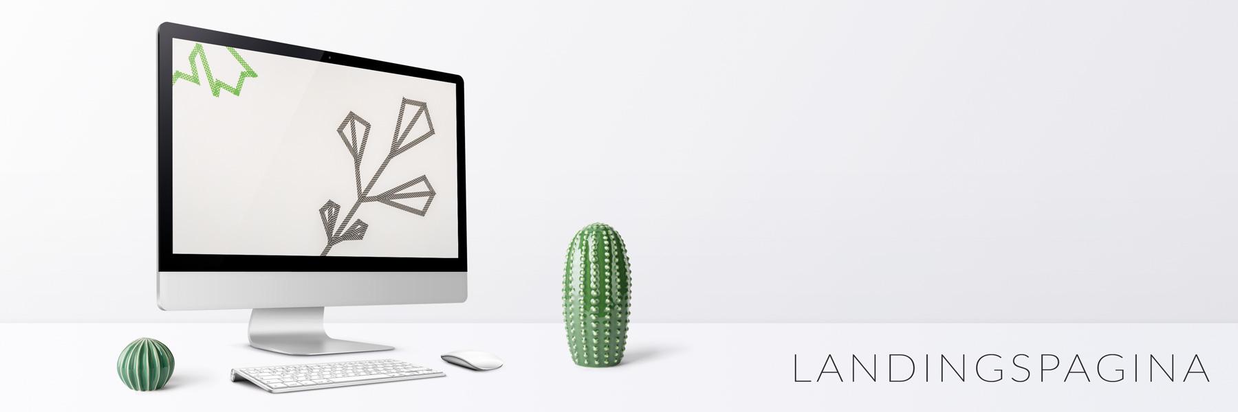 Website ontwerp - Landingspagina - Een pagina om informatie snel en makkelijk te vinden