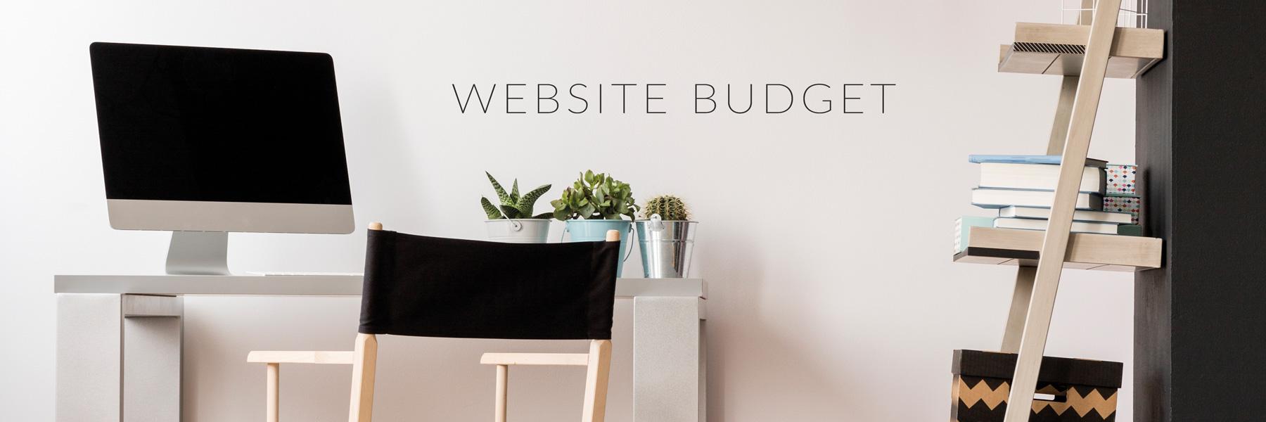 Website budget- betaalbaar website ontwerp