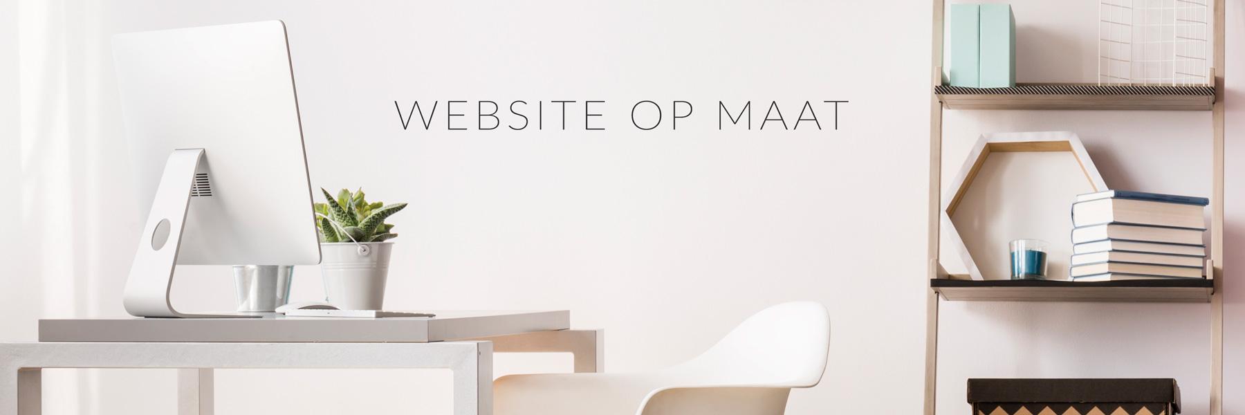 Website op maat - betaalbaar website ontwerp