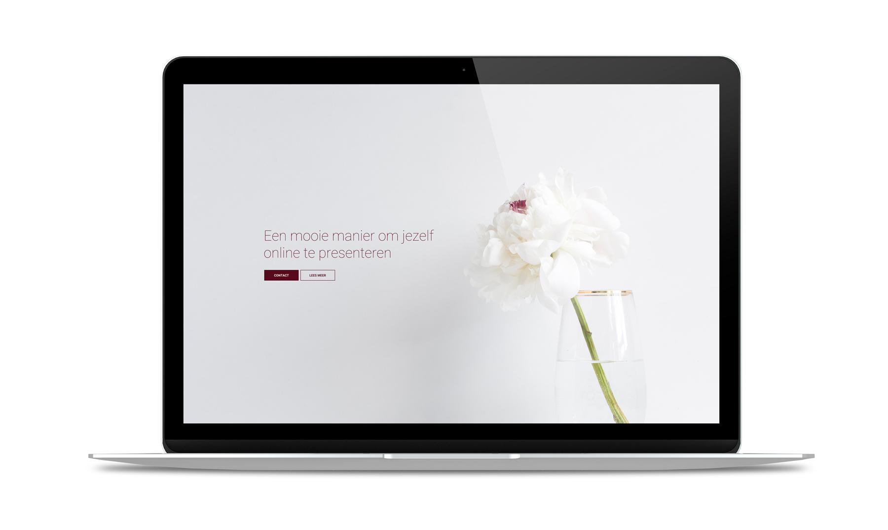 Een professionele website op maat met alle voorzieningen die je wilt